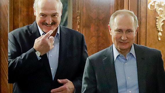 Кремль заявил об отсутствии в графике Путина встречи с Лукашенко