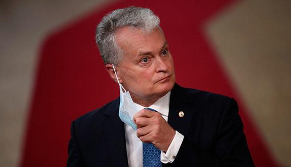 Президент Литвы усомнился в легитимности Лукашенко