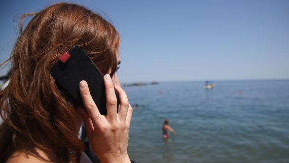 Часть абонентов, приехавших в Крым из других регионов, не пользуются сотовой связью
