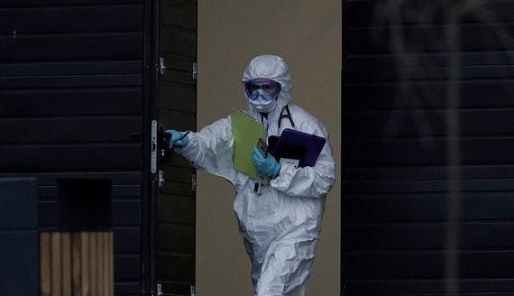 В России за сутки зарегистрировали 5762 новых случая коронавируса