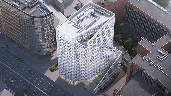 Рядом со зданием Центросоюза может появиться крупный офис