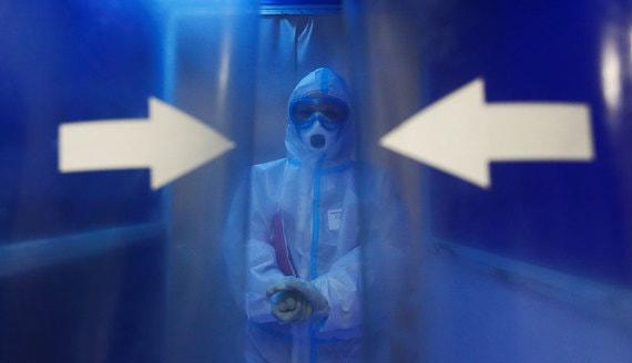В России впервые с июня выявили более 8000 новых заболевших коронавирусом