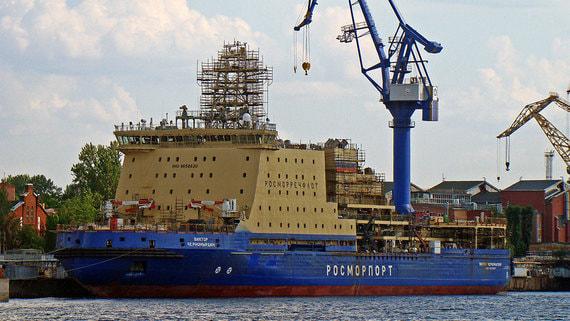Самый большой неатомный ледокол в мире пополнит флот Росморпорта в начале ноября