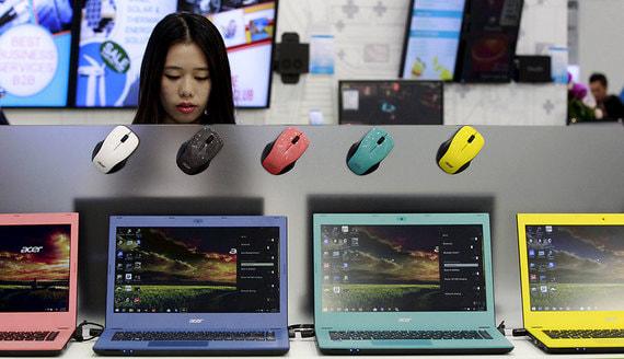 У Acer появился интернет-магазин в России