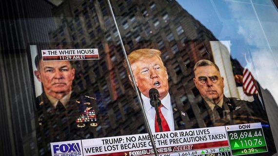 Ответ Трампа на ракетный удар Ирана оказался мягче ожидаемого