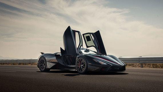 Установлен новый рекорд скорости серийного автомобиля