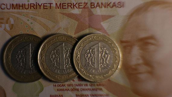 Курс турецкой лиры снизился после решения ЦБ по ключевой ставке