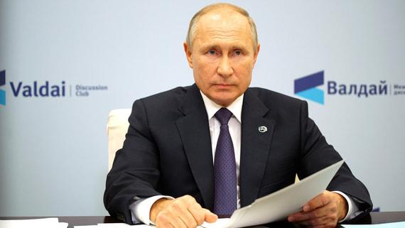 Путин упрекнул Европу в несамостоятельности по вопросу «Северного потока-2»