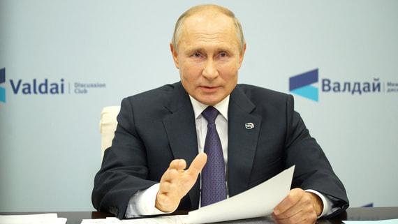 Путин прокомментировал заявление Эрдогана о непризнании Крыма российским