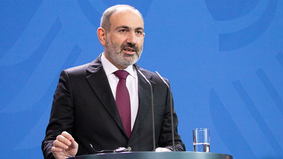 Пашинян заявил о срыве режима прекращения огня в Карабахе