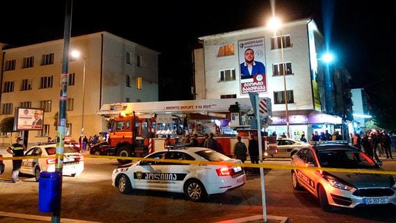 МВД Грузии назвало имя напавшего на банк в Зугдиди