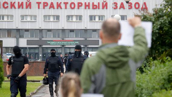 Кремль назвал забастовки в Белоруссии серьезным вопросом для России