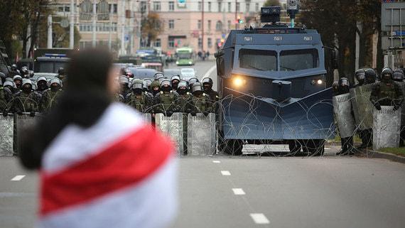 МВД Белоруссии сообщило о задержании 523 человек на акциях 25 октября