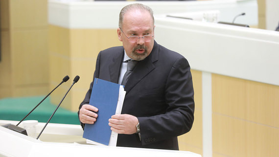 Совфед разрешил задержать экс-главу Минстроя Михаила Меня
