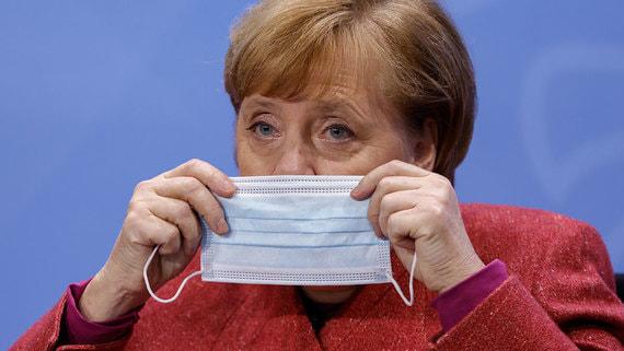 Канцлер Германии Ангела Меркель признала отсутствие успехов в борьбе с COVID-19
