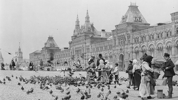 История ГУМа с XIX века до наших дней. Фотогалерея