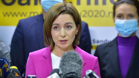 Санду назвала «нечестным» долг Молдавии перед «Газпромом»