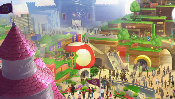 Universal откроет тематический парк Super Nintendo World в феврале