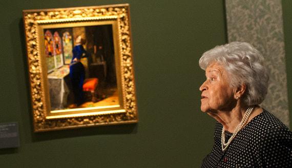 Пушкинский музей назвал причину смерти Ирины Антоновой