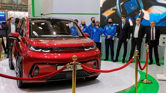 «КамАЗ» презентовал собственный электромобиль