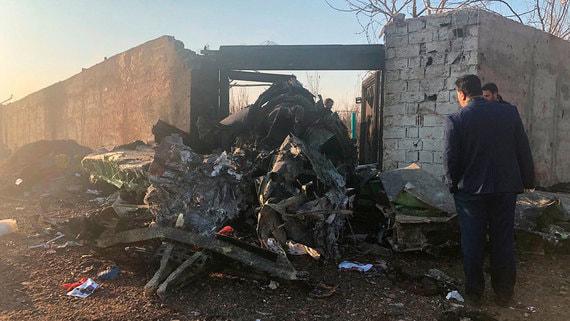 Иран признал вину в крушении украинского самолета