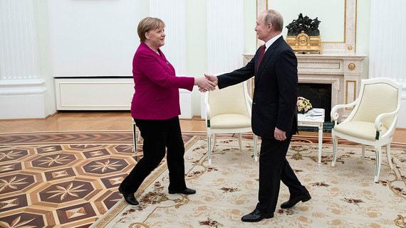 Какие вопросы обсудили Путин и Меркель. Главное