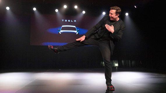 Рыночная капитализация Tesla приближается к $100 млрд
