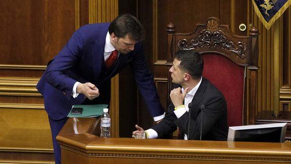 Зеленский отказался отправлять премьера Гончарука в отставку