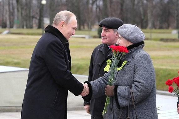 Путин пообещал ветеранам Великой Отечественной войны по 75 000 рублей