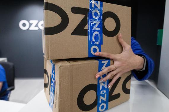 Ozon почти полностью откажется от собственных курьеров