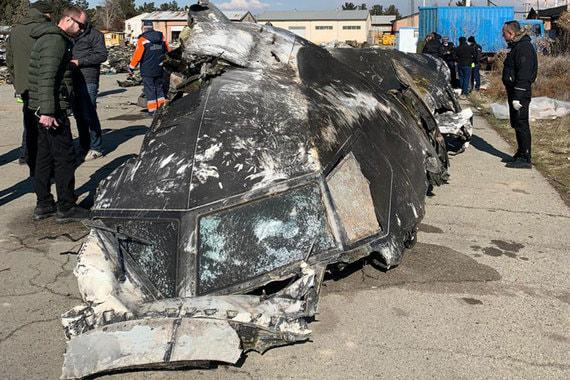 Украинский пассажирский самолет в Иране был сбит двумя ракетами «Тор-М1»