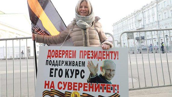 Послание президента подняло рейтинги Путина после рекордно низких цифр декабря