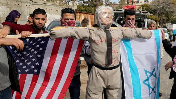США и Израиль объявят во вторник мирную «сделку века» для палестинцев