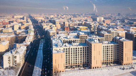 ПИК выкупает часть проекта Ligovsky City недалеко от центра Санкт-Петербурга