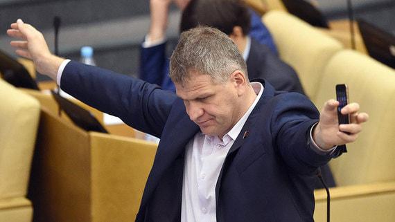 Депутата Госдумы коммуниста Алексея Куринного хотят перевести в Совет Федерации