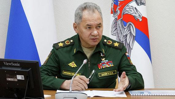 Шойгу обвинил Украину в дестабилизации ситуации в Донбассе