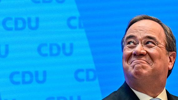 Кандидатом в канцлеры Германии от правящего блока стал лидер ХДС Армин Лашет