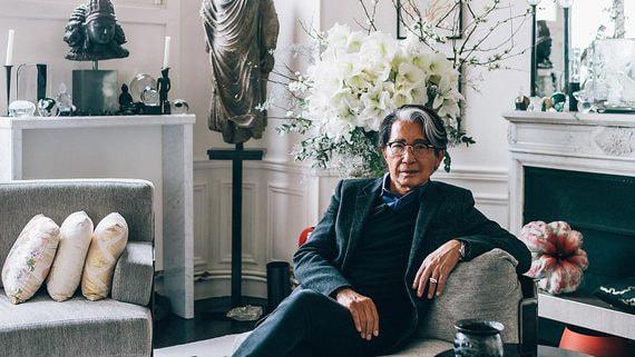 В Париже пройдет аукцион предметов из частной коллекции Кензо