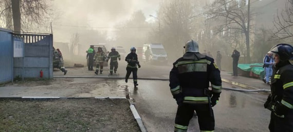 Четыре человека погибли в результате пожара в Мытищах