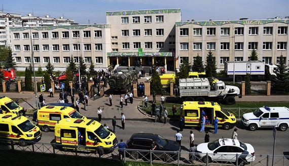 Президент Татарстана сообщил о семерых погибших при стрельбе в школе