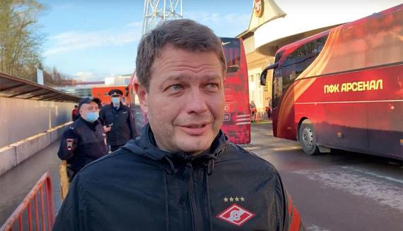 В «Спартаке» рассказали о состоянии избитого медиадиректора клуба