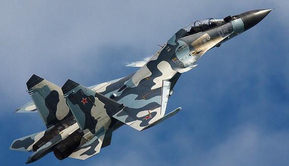 Су-30 перехватил два истребителя ВВС Франции над Черным морем