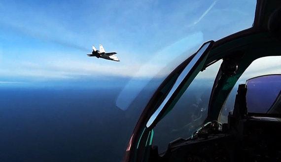 Российский истребитель сопроводил норвежский самолет над Баренцевым морем