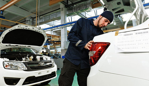 «Автоваз» приостановит производство Lada Granta из-за нехватки комплектующих