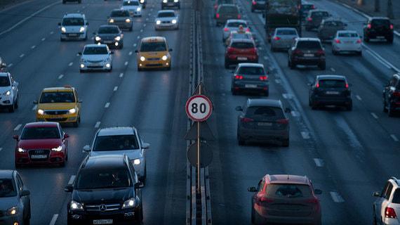 В МВД выступили против снижения скорости движения автомобилей в городах