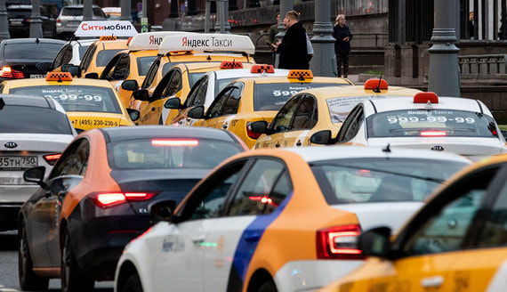 Агрегаторы такси ответили на требование властей Москвы по водителям-иностранцам
