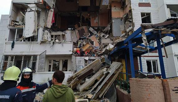 В результате взрыва газа в жилом доме в Ногинске погибли два человека