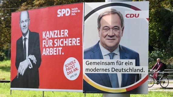 Блок Ангелы Меркель может уйти в оппозицию после выборов в Германии
