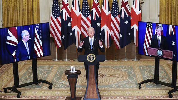 Австралия, США и Британия сформировали антикитайский союз