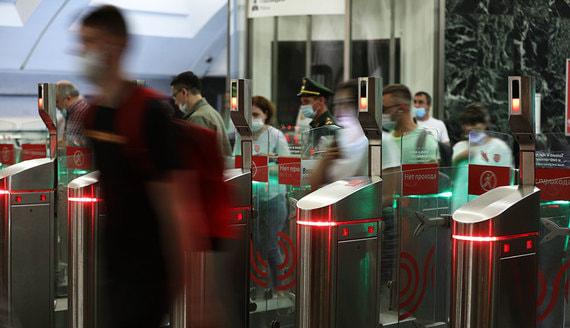 Система «оплаты лицом» заработала на всех линиях метро Москвы